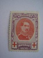 134 Bien Centré *  Vendu à 15% De Sa Valeur Catalogue (57,00) - 1914-1915 Croix-Rouge