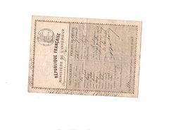 Permis De Chasse - Revenue Stamps