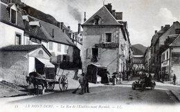 63  LE MONT DORE  RUE DE L'ETABLISSEMENT HERMOK - Le Mont Dore