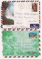 (CdC) Polinesia Francesa, Sobres (2) Flora - Polinesia Francesa
