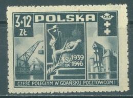 POLAND - MNH/** - 1946  -  Yv 471 Mi 444 - Lot 21178 - 1944-.... Republic