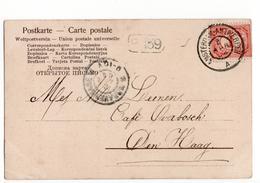 Amsterdam Antwerpen A Grootrond - 1904 - Postal History