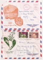 (CdC) Polinesia Francesa, Sobres (2) Stampless + Otro - Polinesia Francesa