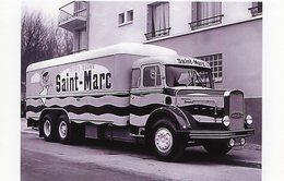 Camion Bernard Publicité Pour La Marque De Lessive Saint-Marc    -  15x10 PHOTO - Camión & Camioneta