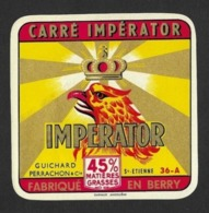 Etiquettes De Fromage.   Carré Impérator.   36A.   Neuve. - Cheese