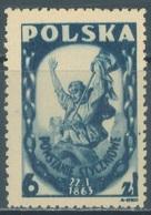 POLAND - MLH/* - 1945-1946  -  Yv 463 Mi 427 - Lot 21179 - 1944-.... République