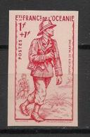 Océanie - 1941 - N°Yv. 135a - Défense De L'empire - Non Dentelé / Imperf. - Neuf Luxe ** / MNH / Postfrisch - Oceania (1892-1958)