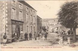 CPA Latrecey Hôtel Du Commerce 52 Haute Marne - Autres Communes