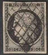 France 1849-1850 N° 3 Cérès - 1849-1850 Cérès