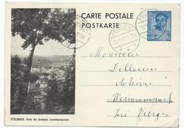 Nr. 111-7 (Ettelbruck) - Feulen 28-12-1938 Pour Weiswampach - Entiers Postaux