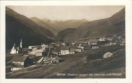 CPA Suisse - Grisons * Sedrun Gegen Die Oberalp Und Badus * - GR Grisons