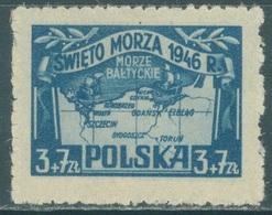 POLAND - MNH/** - 1946  - MARINE DAY - Yv 470 Mi 440 - Lot 21180 - 1944-.... République