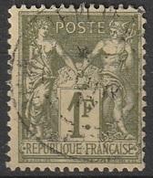 France 1876-78 N° 72 Groupe Allégorique - 1876-1878 Sage (Type I)
