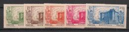 Mauritanie - 1939 - N°Yv. 100 à 104 - Révolution - Série Complète - Neuf Luxe ** / MNH / Postfrisch - Unused Stamps