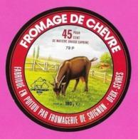 Etiquettes De Fromage De Chèvre.   Fromagerie De Soignon.   79P.    Neuve. - Cheese