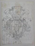 Ex-libris Héraldique Illustré XVIIIème - STEIGER - Ex-libris