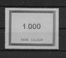 Fictif N° 95 De 1950 ** TTBE - Cote Y&T 2020 De 7 € - Phantomausgaben