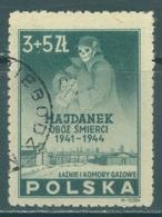 POLAND - USED/OBLIT. - 1946  - IN MEMORY - Yv 467 Mi 436 - Lot 21181 - 1944-.... République