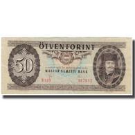 Billet, Hongrie, 50 Forint, 1980-09-30, KM:170d, TTB - Hongrie