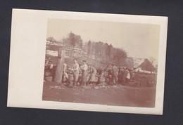 Près Altenbach Carte Photo Guerre 14  Hartmannswillerkopf 152 Regiment Infanterie Toilette Après Victoire  26 Mars - Guerre 1914-18