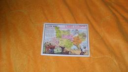 CHROMO OU IMAGE ANCIENNE DATE ?...EDITION SPECIALE DES PRODUITS DU LION NOIR..L'OUEST ET LE CENTRE DU BASSIN PARISIEN - Trade Cards