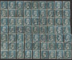 Série PASTEUR LOT DE 63 N° 181  Obl - 1922-26 Pasteur