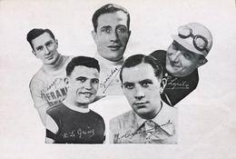 Equipe De France Cycliste Pour Le Tour De France 1932 - Cyclisme