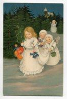 ANGES 066 Petits Anges Et Jouets De Noel   Dans La Nuits Neige  No 393 - Angels
