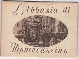 L'ABBAZIA DI MONTECASSINO. ITALY PHOTOSET WITH 9 PHOTO POSTAL, CIRCA 1935 NOT CIRCULATED -LILHU - Frosinone