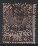 Eritrea 1903 Floreale US - Eritrea