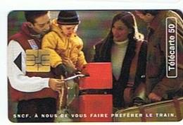 SNCF . A NOUS DE VOUS FAIRE PREFERER LE TRAIN - 50 Unités - Treni