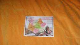 CHROMO OU IMAGE ANCIENNE DATE ?...EDITION SPECIALE DES PRODUITS DU LION NOIR..LE SUD OUEST PARTIE SEPTENTRIONALE - Trade Cards