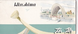HIRISHIMA. JAPAN PHOTOSET WITH 6 PHOTO POSTAL, CIRCA 1960's. NOT USED, NOT CIRCULATED -LILHU - Hiroshima