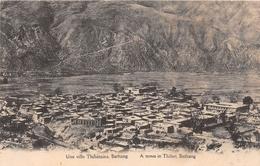ASIE - BATHANG - Une Ville Thibétaine - Vue Générale - Tibet
