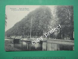 BE616 Haccourt Wezet Pont Du Canal Et Route De Devant Le Pont - Oupeye