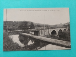 Environs De Passavant Le Pont Sur Le Canal Et Le Coney  Haute Saône Franche Comté - Altri Comuni