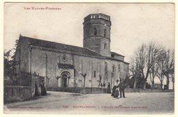 65 - B56644CPA - MAUBOURGUET - Eglise - Facteur En Moyen Plan - Très Bon état - HAUTES-PYRENEES - Maubourguet