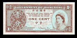 # # # Banknote Hongkong 1 Cent UNC # # # - Hongkong