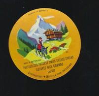 Etiquette Fromage  Fondu With Cognac  Lustenberger Dürst SA Cham Suisse A Voir!   âne - Cheese