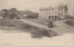 """PRIMEL - Les Rochers - L'Hôtel - """" Grand Hôtel De Primel"""" . Carte Précurseur. - Primel"""