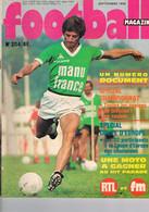 REVUE SPORTIVE - FOOTBALL MAGAZINE - SEPTEMBRE 1976 - N° 204 - - Sport