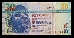 # # # Banknote Hongkong 20 Dollars # # # - Hongkong