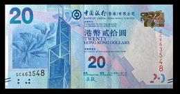 # # # Banknote Hongkong 20 Dollars 2010 AU # # # - Hongkong