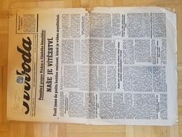 Böhmen Und Mähren Zeitung 'Svoboda' 1.2.41 Hitler-Rede Sportpalast Berlin ((Text übersetzt) Der Sieg Ist Unser. - Briefe U. Dokumente