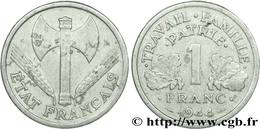 1 FRANC TYPE BAZOR  FRANCISQUE  ALUMINIUM 23MM 1G30 TTB 1944 - Francia