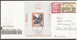 """Österreich 2000: Block Ersttag Auf Brief Einschreiben """"BASILISK"""" ANK 50,--€ - 1945-.... 2nd Republic"""