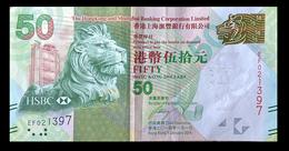 # # # Banknote Hongkong 50 Dollars 2014 # # # - Hongkong