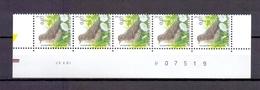 2920 GRASPIEPER DATUMSTRIP 23V01 POSTFRIS** A225 - 1985-.. Birds (Buzin)