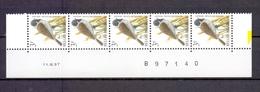 2425 Rietgors DATUMSTRIP 11III97 POSTFRIS** A192 - 1985-.. Birds (Buzin)