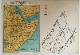 V 60500 Africa Orientale - Cartolina Postale Per Le Forze Armate - Somalia